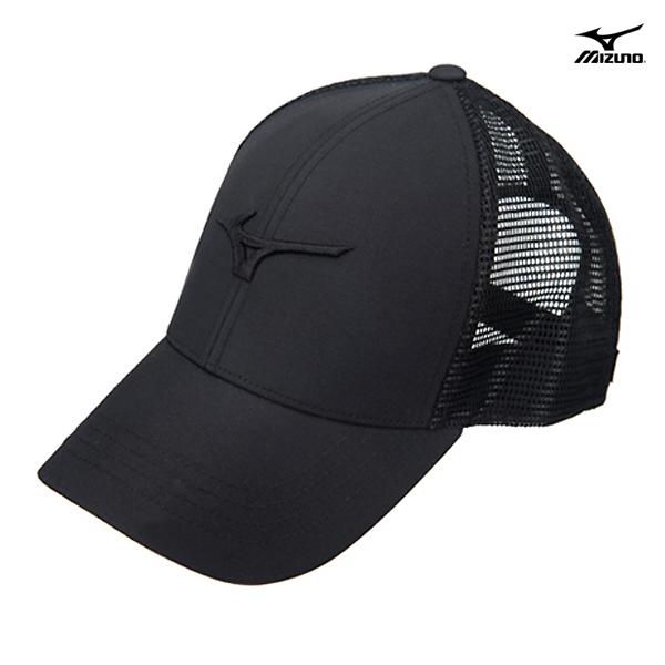 [국내배송]미즈노 캡 모자 CROSS CAP 메쉬 블랙