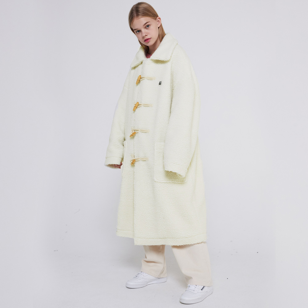 MG9F DUMBLE DUFFLE COAT (IVORY)