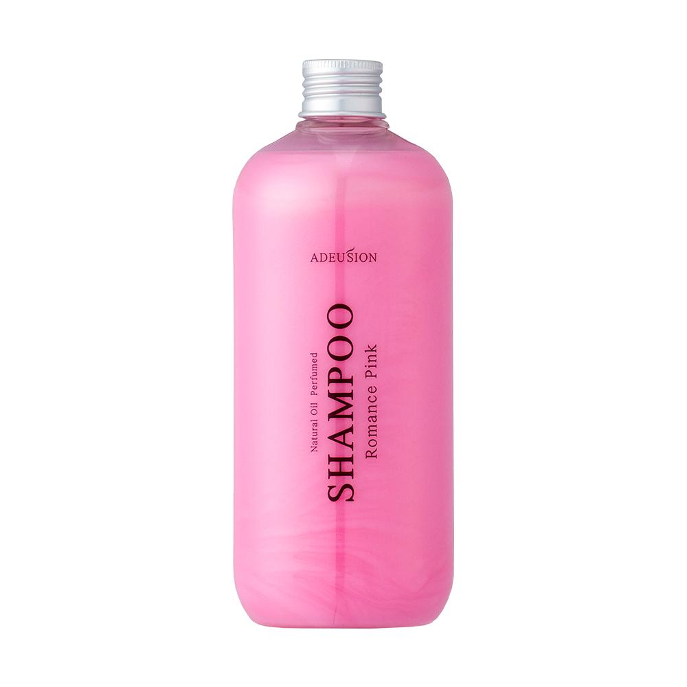 아드시온 내츄럴 오일 퍼퓸드 샴푸 500ml 로맨스 핑크