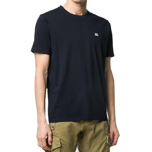 [해외]CP컴퍼니 라운드넥 티셔츠 BK 08CMTS291A005100W