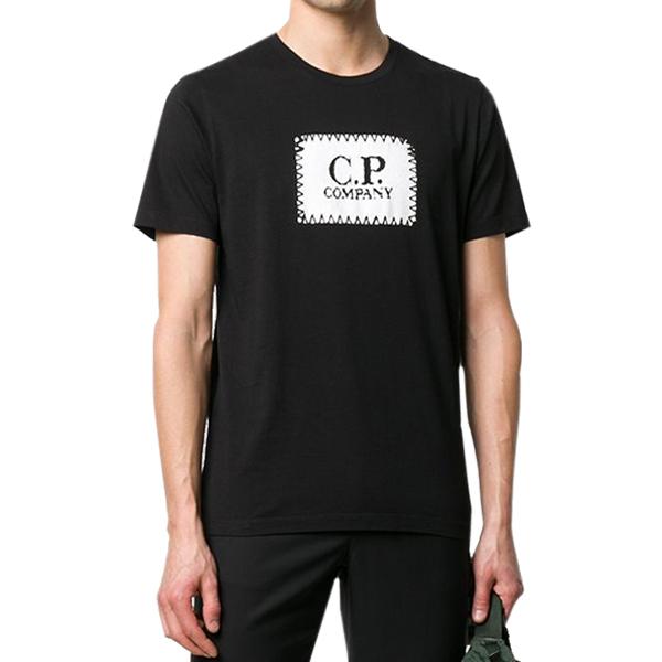 [해외]CP컴퍼니 라운드넥 티셔츠 BK 08CMTS140A005100W