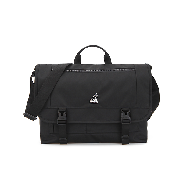 Jon Messenger bag 2035 BLACK