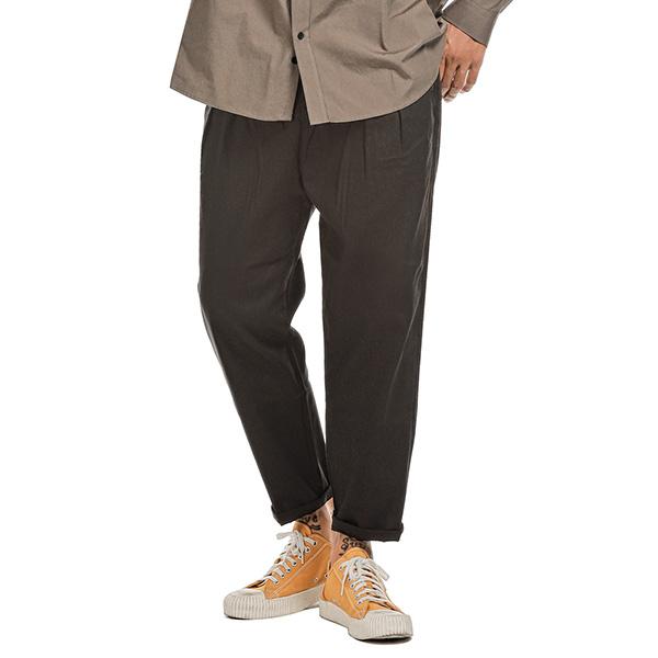 러기드하우스 : EDWIN BANDING BAGGY PANTS 블랙