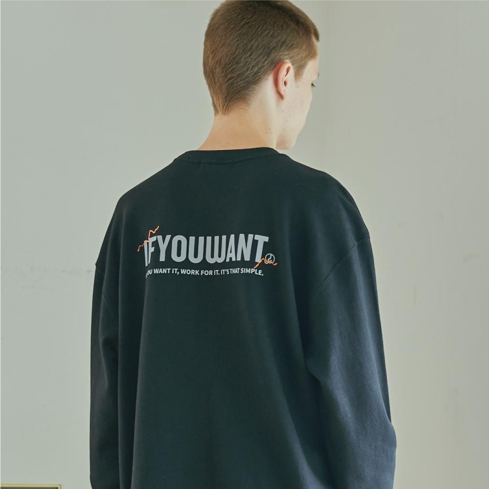 Signature Logo Sweatshirt BLACK