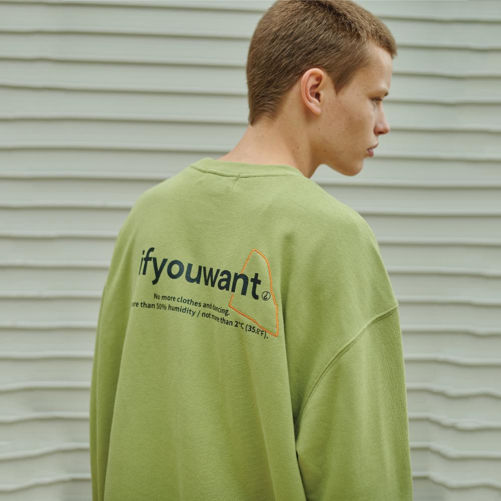 not more than Sweatshirt AVOCADO