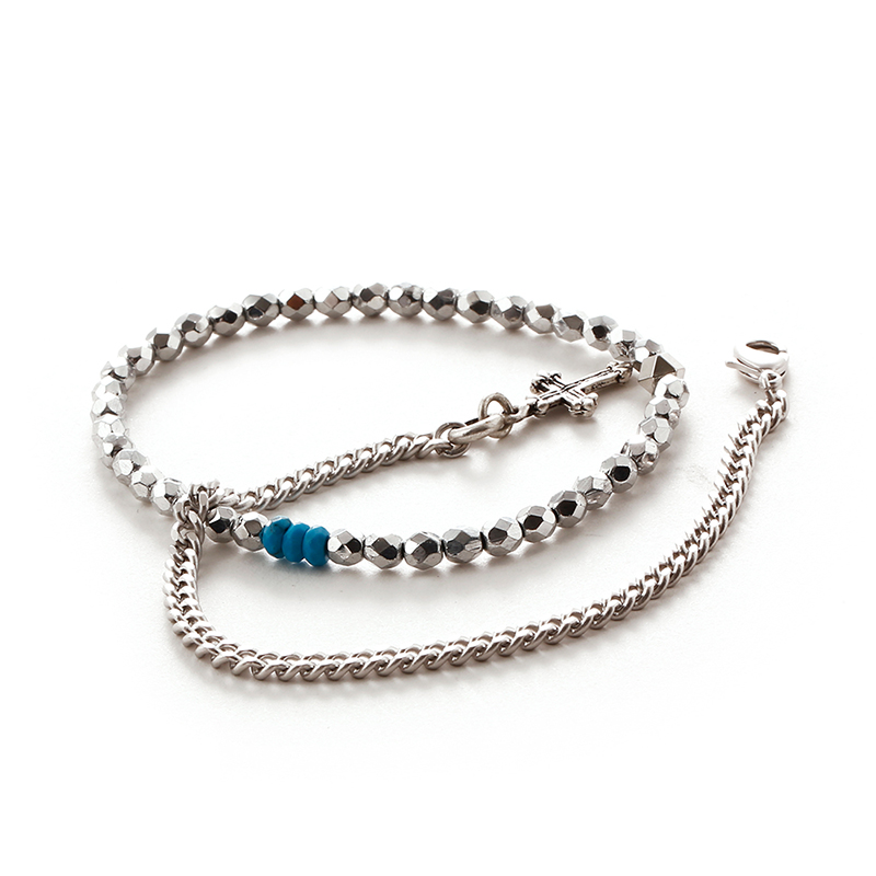 [세트상품] SVB - #228 Bead Chain Layered Bracelet