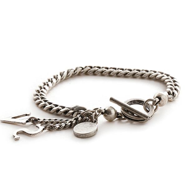 SVB - #231 SV Antique silver Chain bracelet