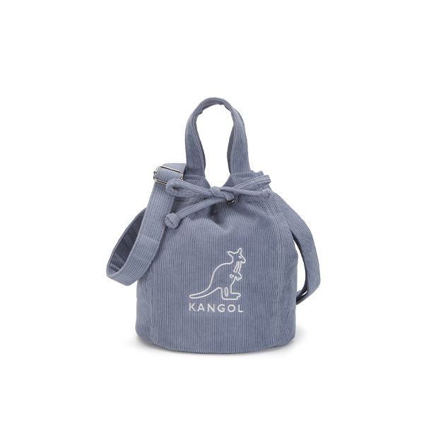 Cord Ⅲ Bucket bag 3796 GRAY/BLUE