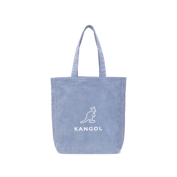 Eco Friendly Bag Corduroy 0020 GRAY/BLUE