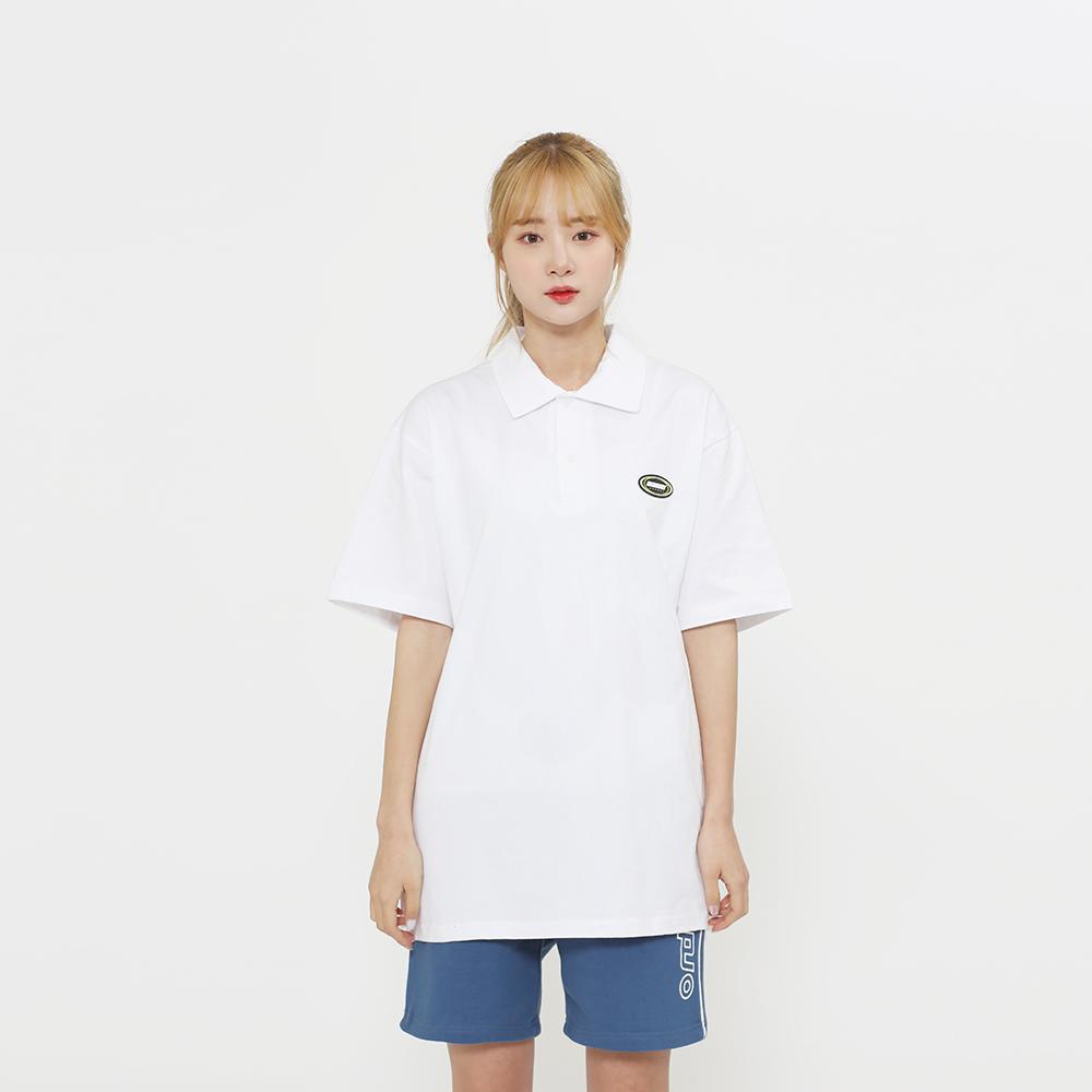 20SS OEL 신상 와펜 카라티(2컬러)