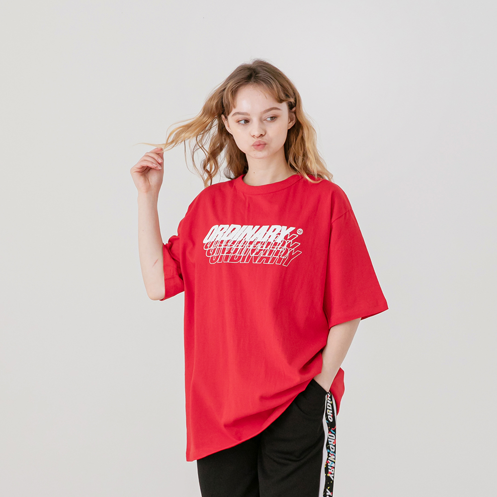 ORDINARY T-SHIRT RED