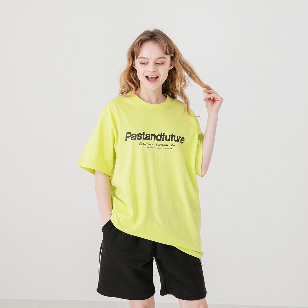 PASTANDFUTURE T-SHIRT LIME