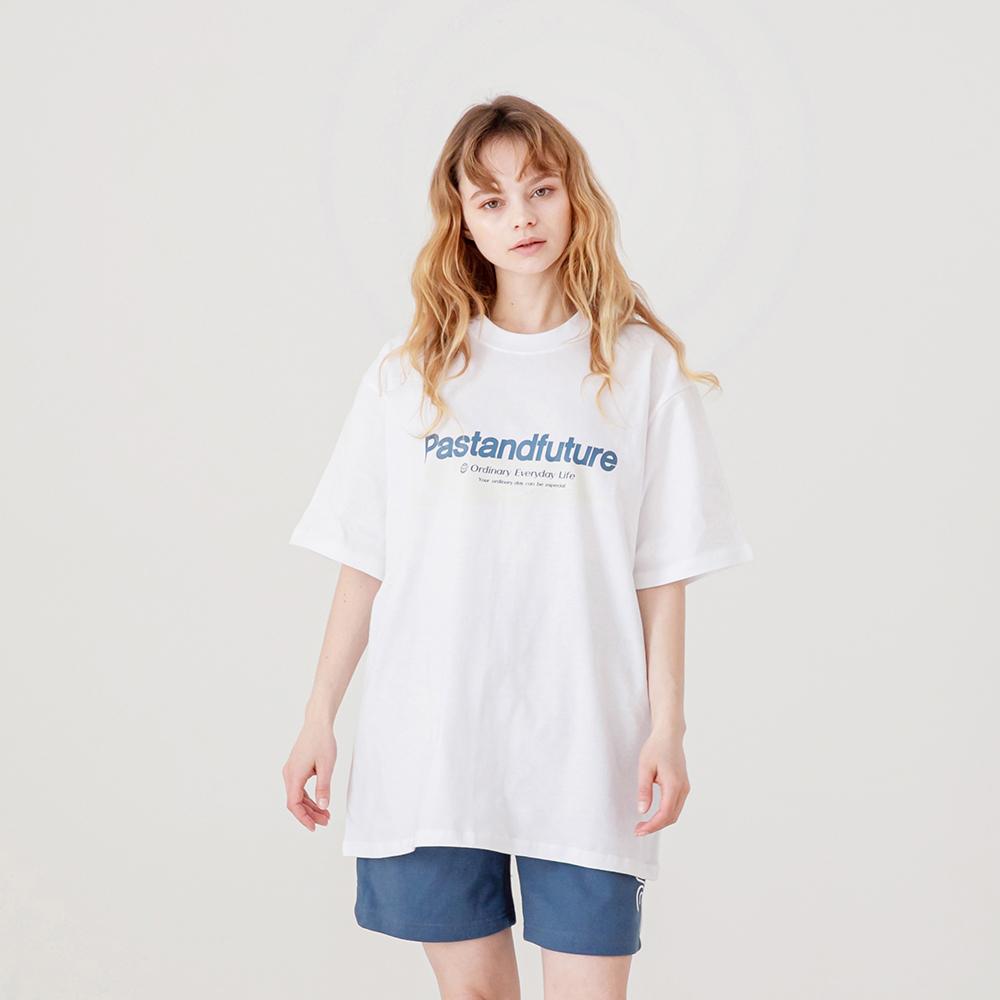PASTANDFUTURE T-SHIRT WHITE