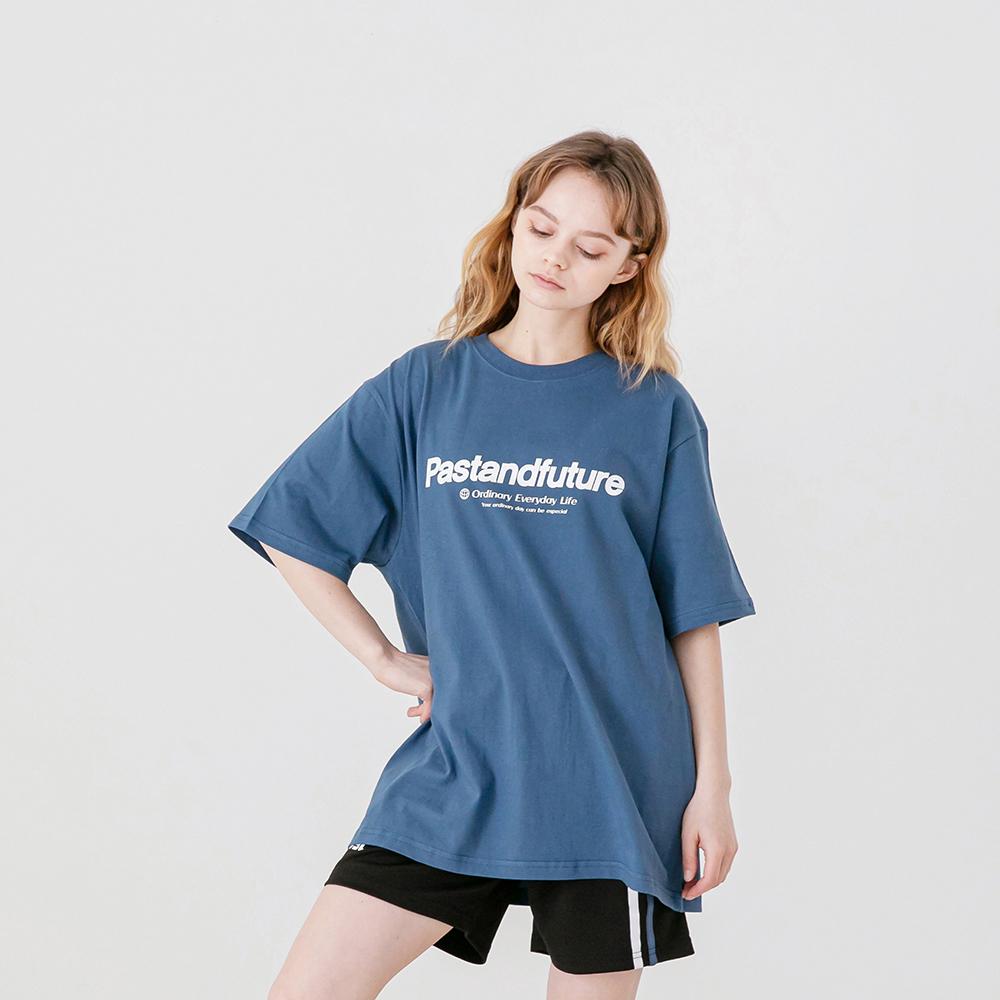 PASTANDFUTURE T-SHIRT (CLASSIC BLUE)