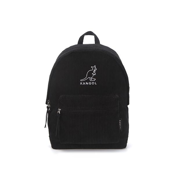 Cord big wale Backpack 1377 BLACK