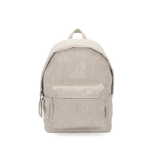 Cord big wale Backpack 1377 LT.BEIGE