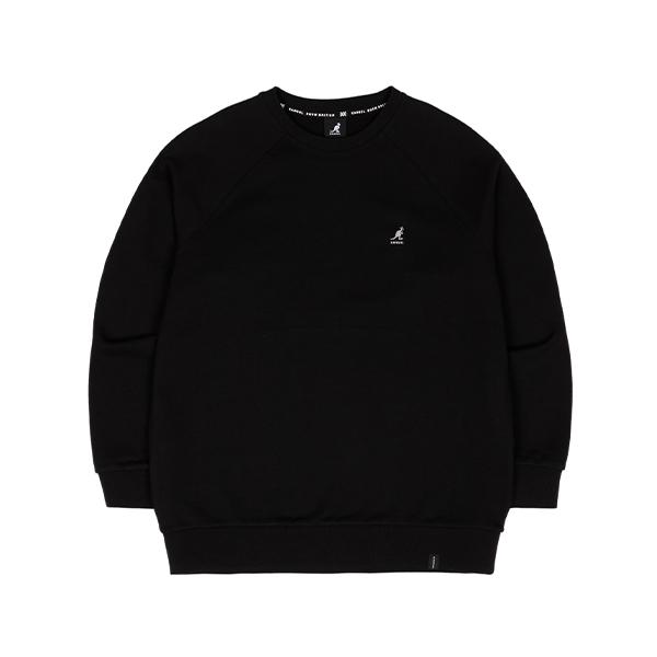 Bold Emb. Sweatshirt 1644 BLACK
