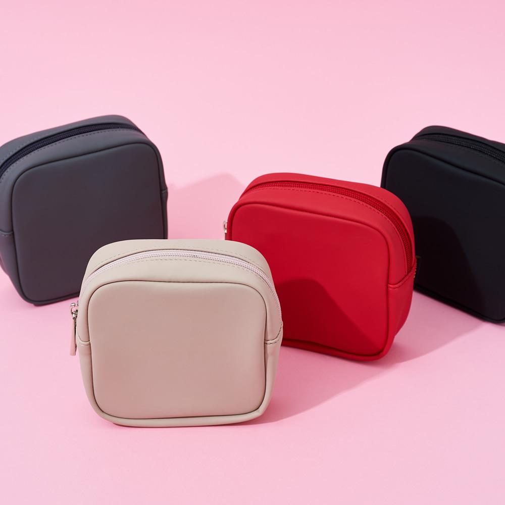 aileen 심플 스퀘어 파우치 가방 캐주얼가방 학생가방