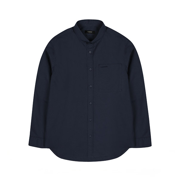 [한정특가]KANGOL Oversized Shirt 7031 NAVY