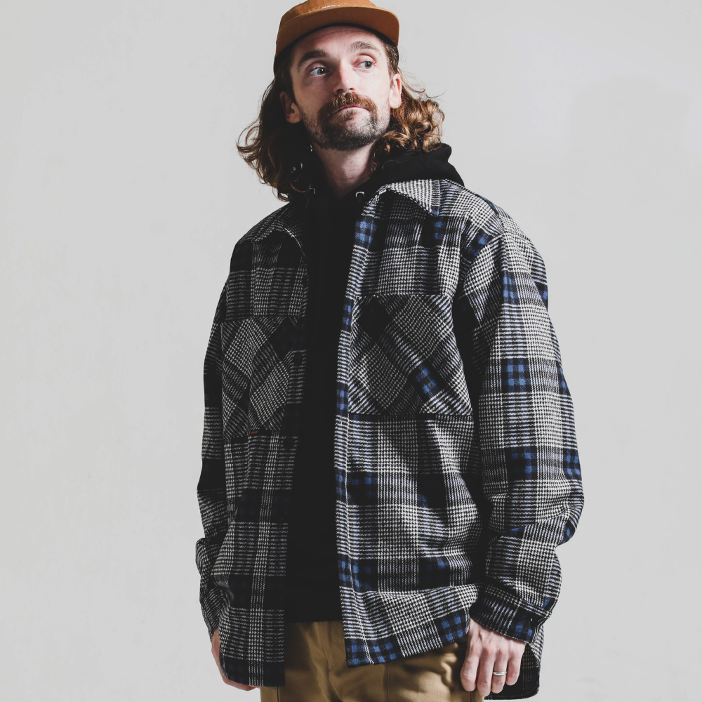 NEWTRO Wide Pocket Shirt Jacket_BLUE