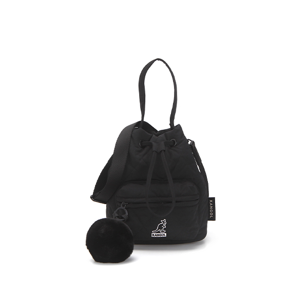 Quilt Bucket bag 3801 BLACK