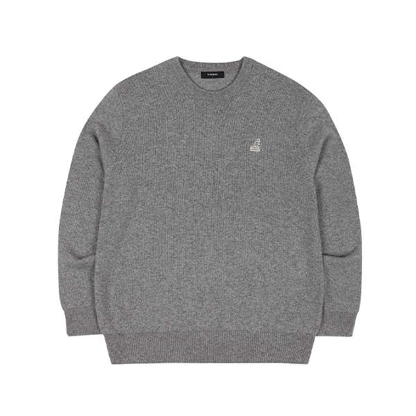Club Knit Sweater 1810 MELANGE GREY