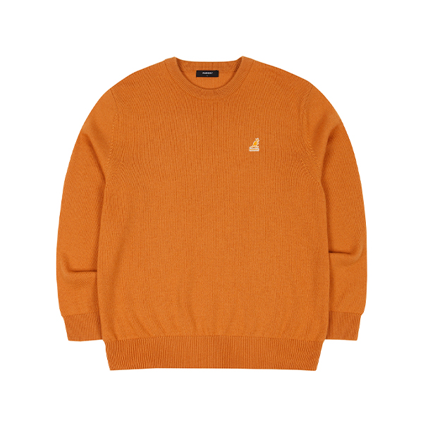 Club Knit Sweater 1810 ORANGE