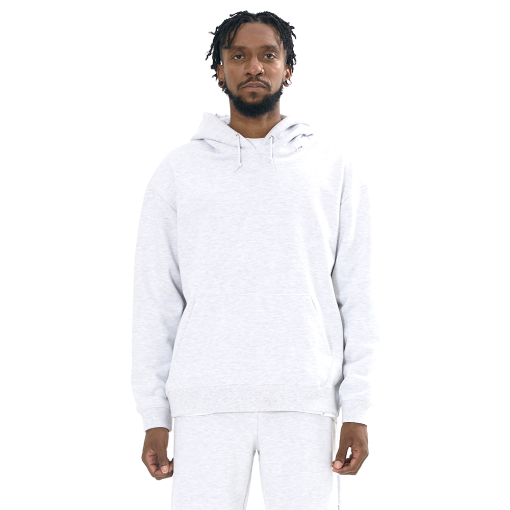 NFFO 2020FW BASIC SWEAT HOODY LIGHT GRAY
