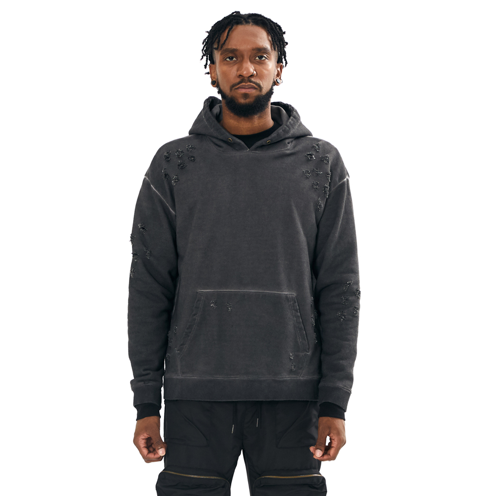 NFFO 2020FW ROONA SWEAT HOODY BLACK
