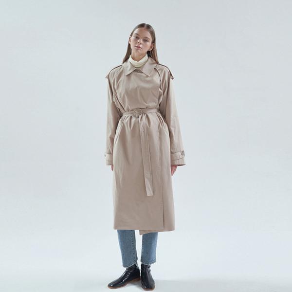 20FW frank trench coat - beige
