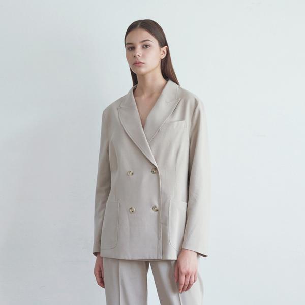 20FW smart setup suit jacket - beige