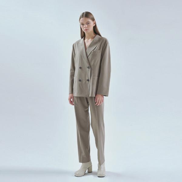 20FW smart setup suit - khaki