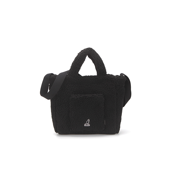 Poodle Ⅲ Tote bag 3800 BLACK