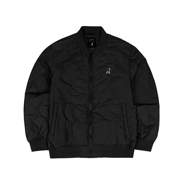 Kangol Quilted Jumper 8121 BLACK