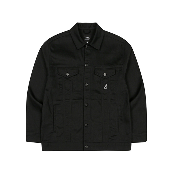 Oversized Trucker Jacket 8512 BLACK