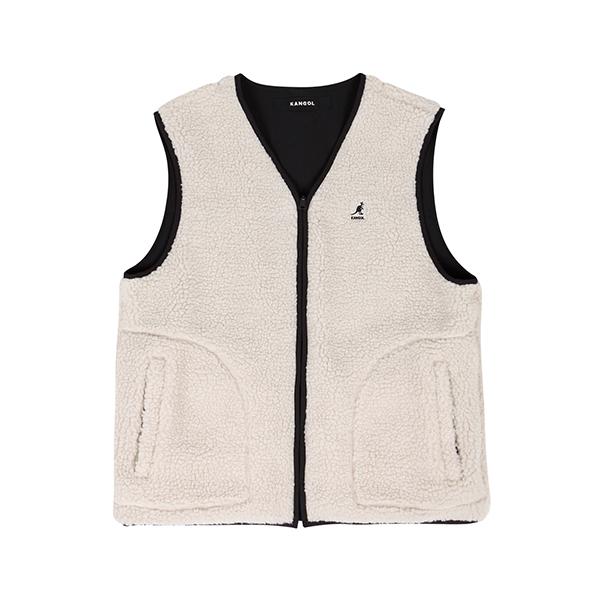 Reversible vest 6119 IVORY