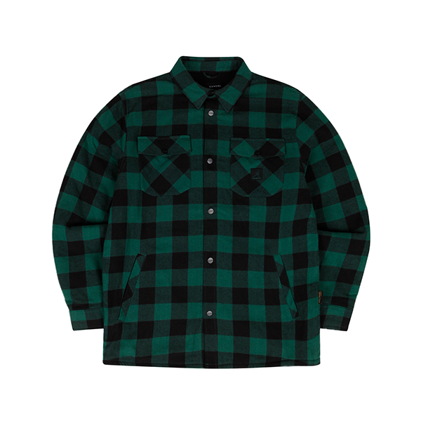 Buffalo check shirtket 7043 GREEN