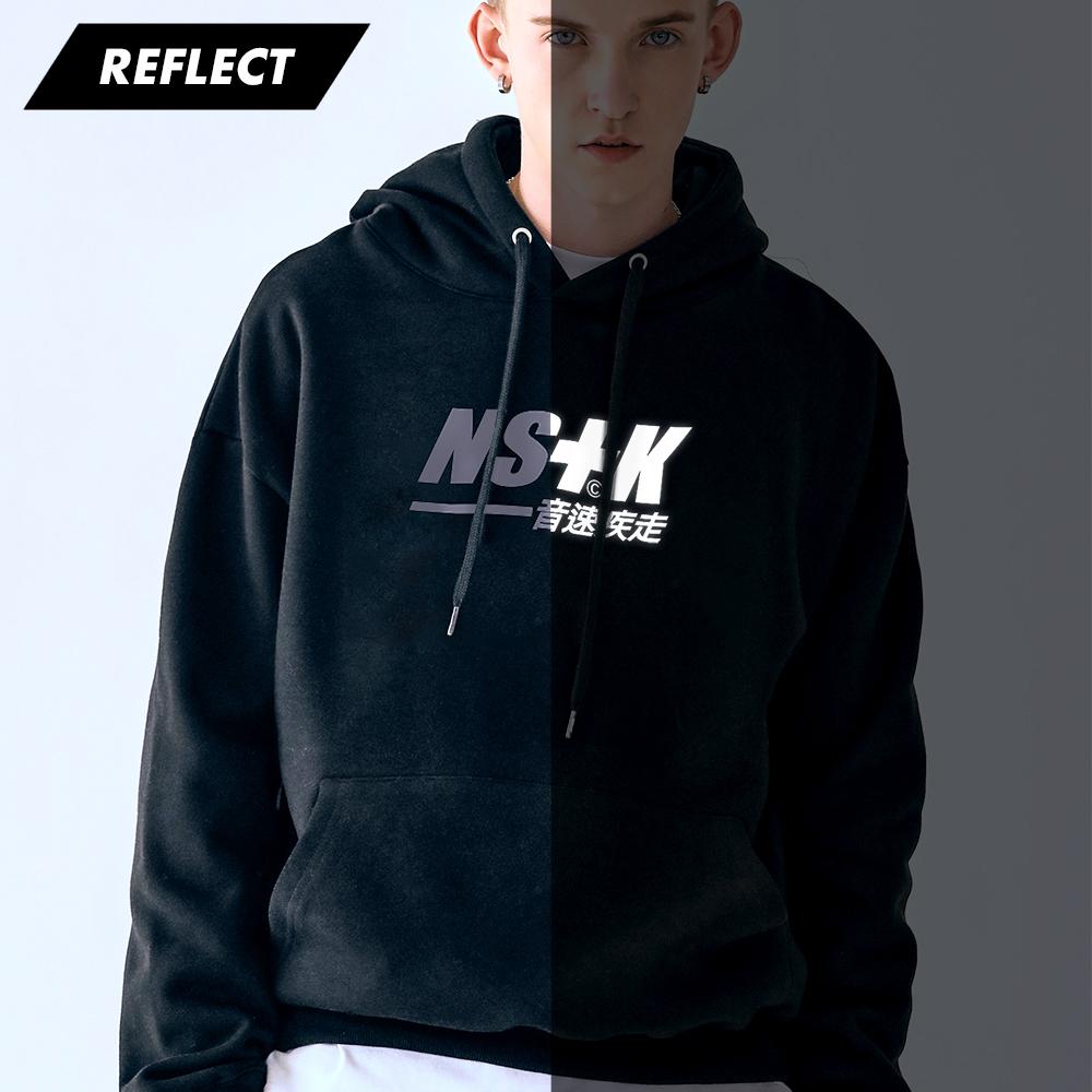 [네스티킥] 스테이 마하 기모 후드 (BLACK)(20FW-K031)