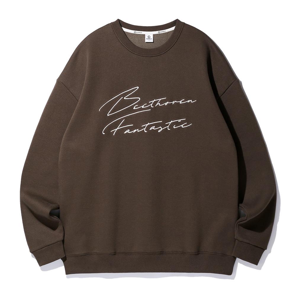 앨빈클로 판타지 오버핏 맨투맨 티셔츠 MAR707 (3 Color)