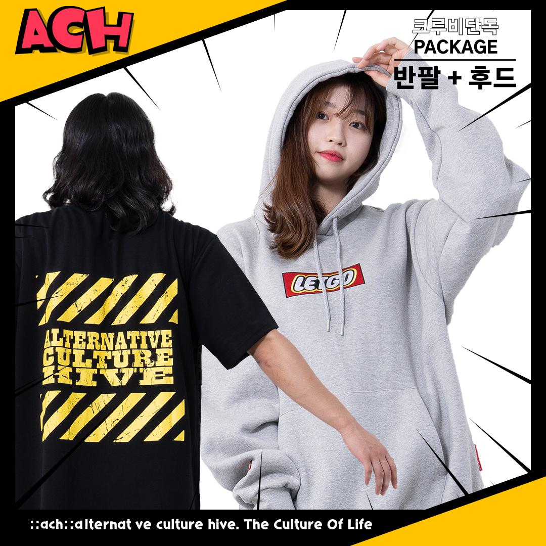 [단독구성]2020 ACH 반팔+후드 PACK