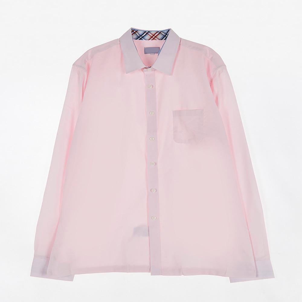 [교복아울렛] 원포켓 핑크 셔츠 (대진고) 교복 학생복