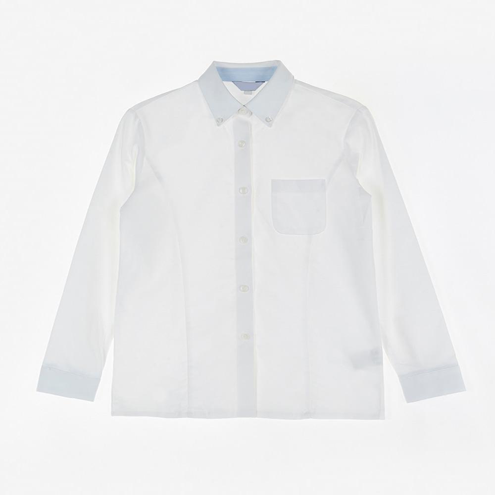 [교복아울렛] SIE 화이트 포켓 셔츠 교복 학생복 학교
