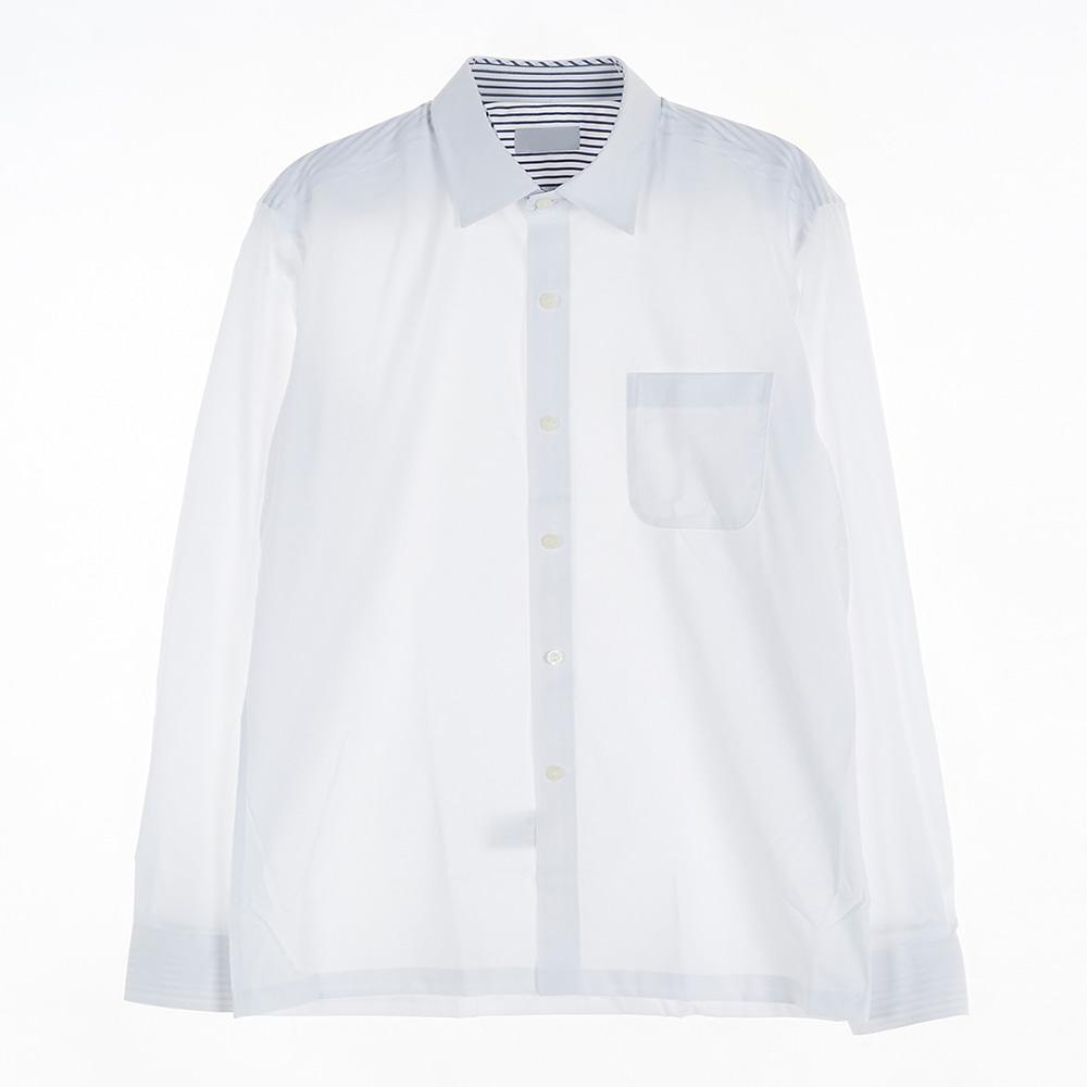 [교복아울렛] 남자 백색 공용 셔츠 교복 교복쇼핑몰