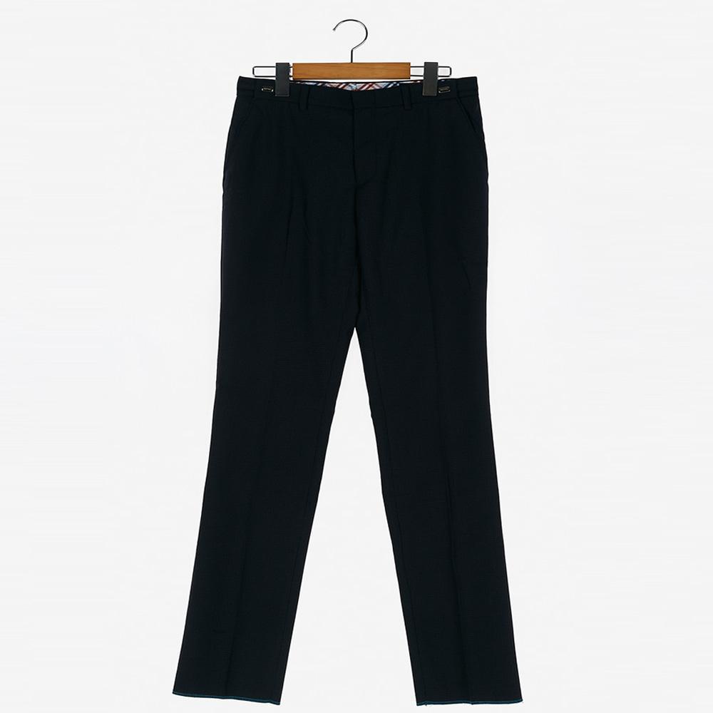 [교복아울렛] 심플 블랙 조절 바지 (용산중) 교복