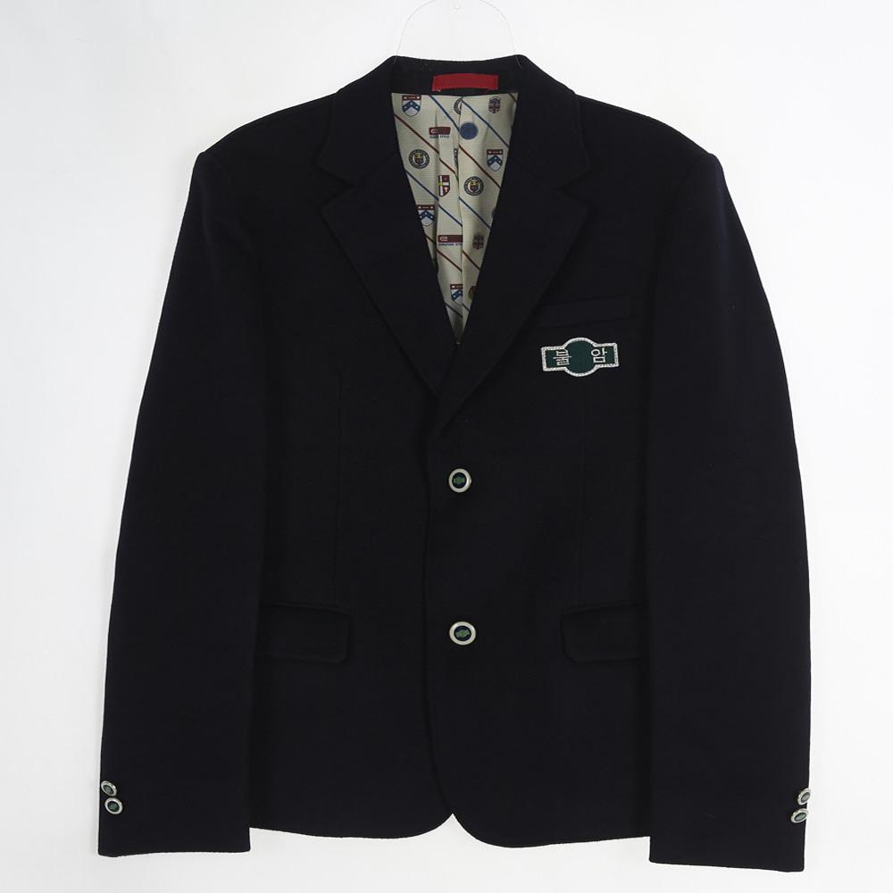 [교복아울렛] 포인트 투버튼 남자 자켓 (불암중) 교복