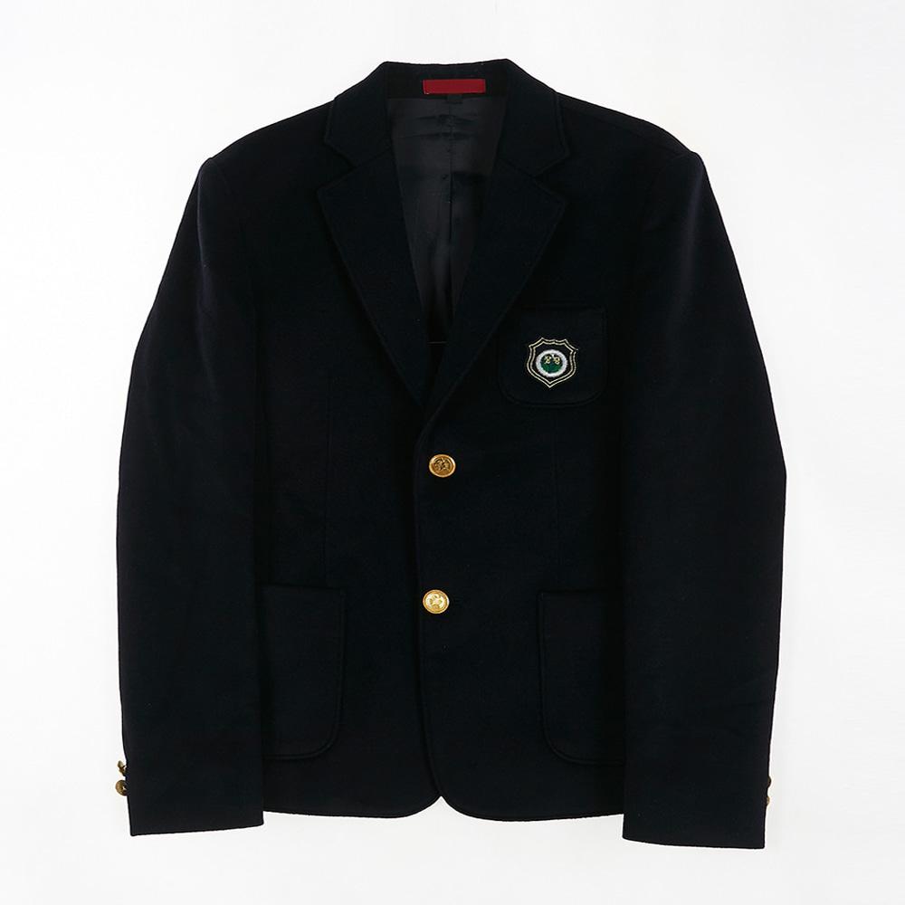 [교복아울렛] 골드 단추 남자 자켓 (장평중) 교복