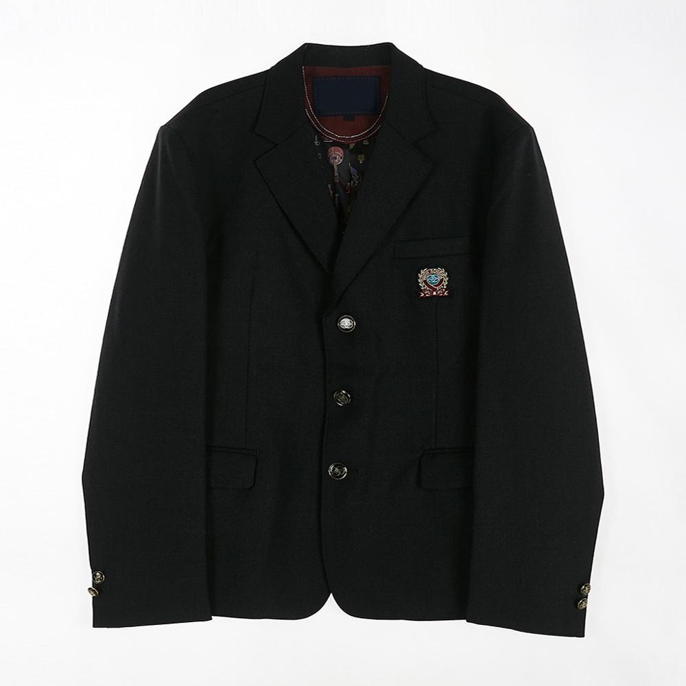 [교복아울렛] 차콜 3단추 남자 자켓 (금곡고) 교복