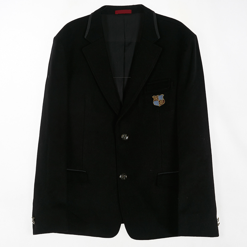 [교복아울렛] 차콜라인 투버튼 남자 자켓 (강동고)