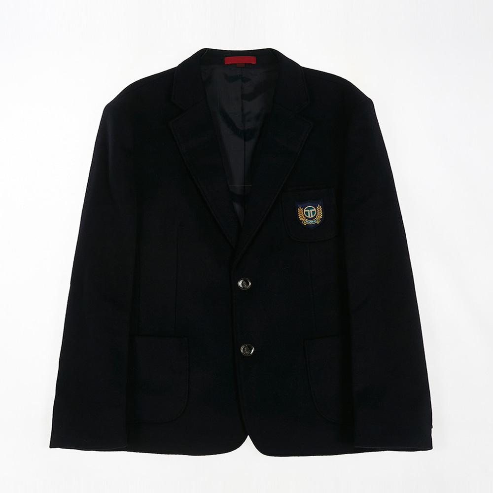 [교복아울렛] 투버튼 네이비 남자 자켓 (가원중) 교복