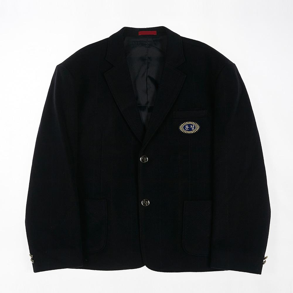 [교복아울렛] 포켓 네이비 남자 자켓 (문정중) 교복